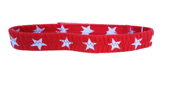 waist belt Star, red