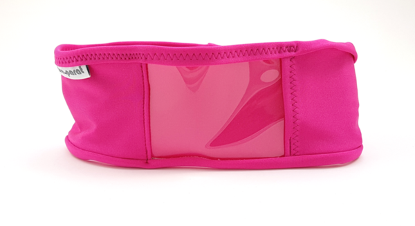 pump waist band lycra, dark pink