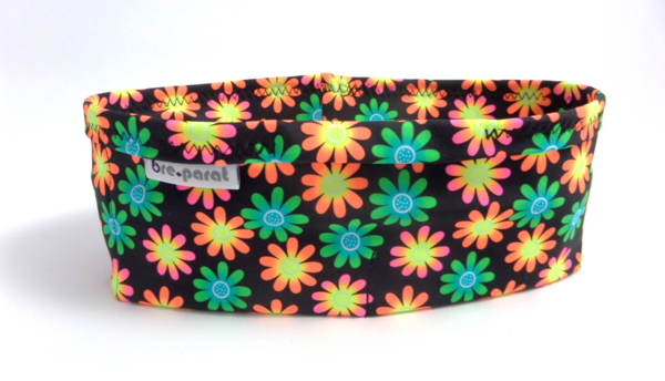 pump waist band lycra flowers