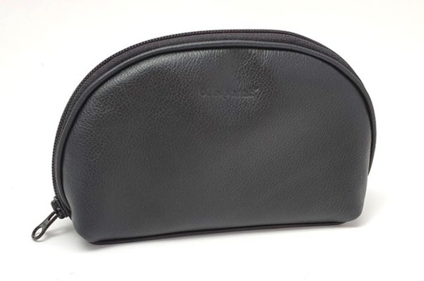 accessory pouch leather, black