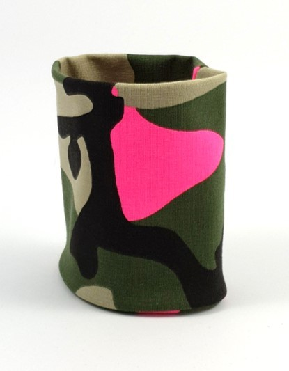 Armbinde Camouflage, pink