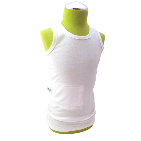 tanktop white , pocket on the right side