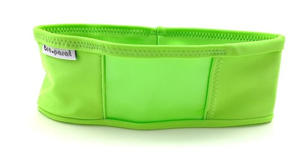 pump waist band lycra, lime green